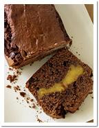 Шоколадный торт с бананово-карамельной начинкой